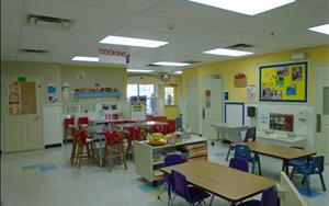 Our Learning Adventures Classroom, where Phonics, Math, and Cooking take place.