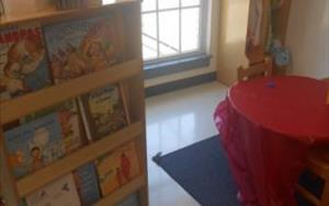 Dramatic Play Center and Reading Corner.