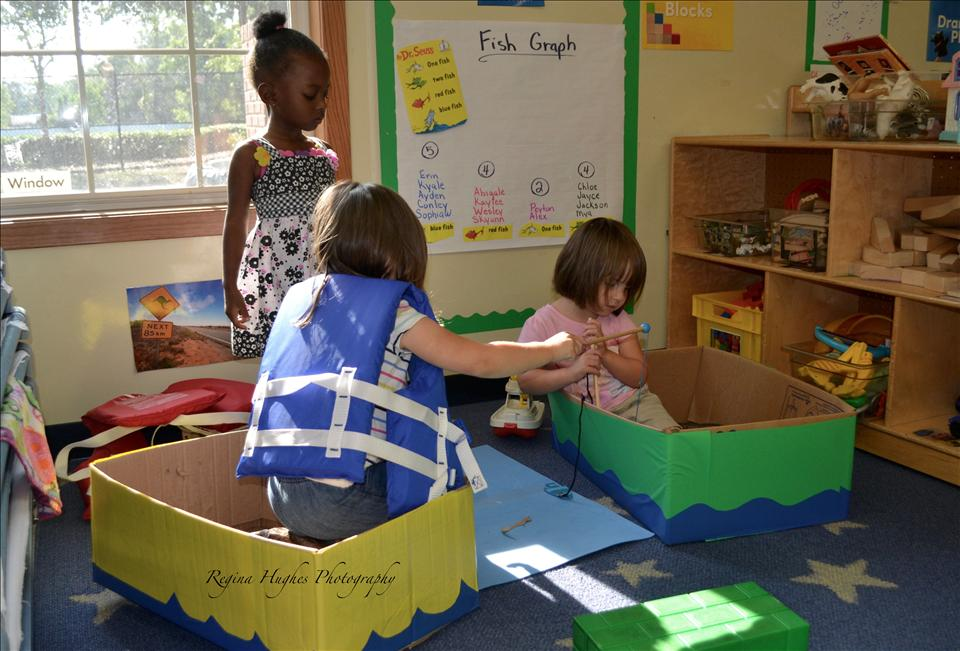Preschool - Imagination is a huge part of learning.