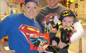 Even our families joined the fun for Superhero Day!