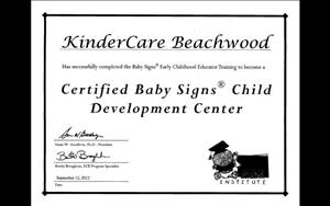 Baby Signs Certified