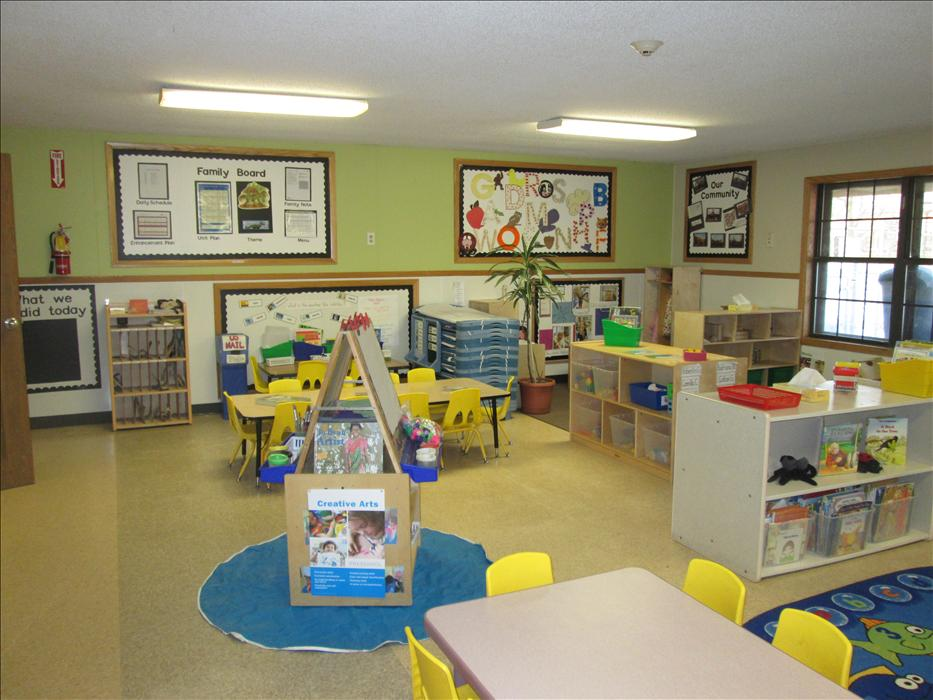 Our preschool classroom cares for 3 to 4 year olds.