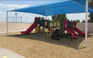 Main Playground: Shaded Area/Play Structure