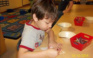 Advancing fine motor skills in VPK