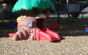 Infant - Discovery Preschool playground