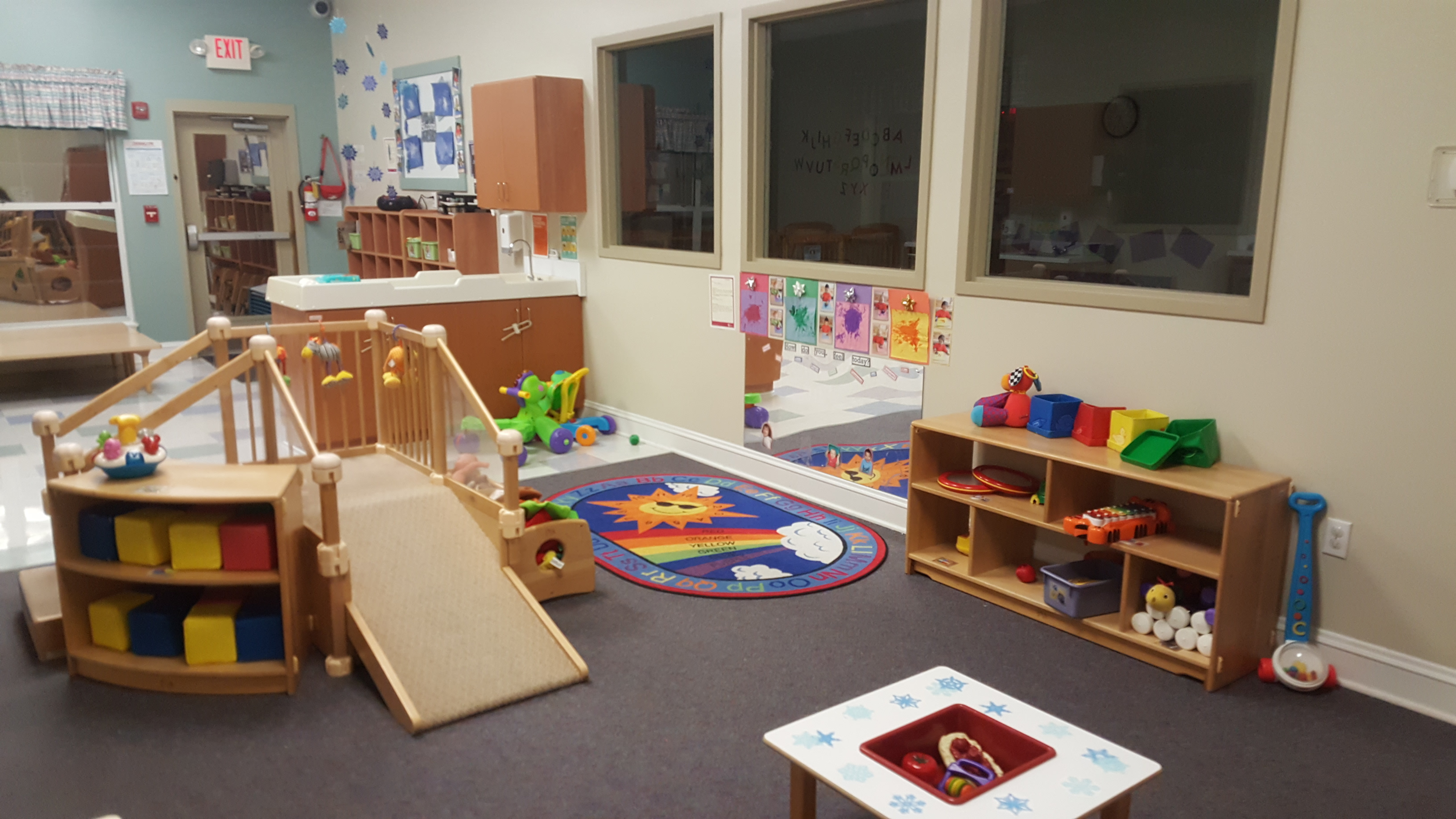 This is our Infant C classroom for older infants. (12-16 months)