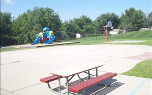 Playground for ages 3 and up