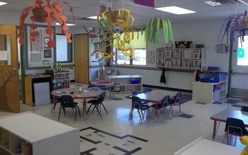 Early Foundations Discovery Preschool Classroom