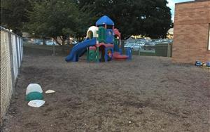 Preschool, Pre-K, and School-Age Playground