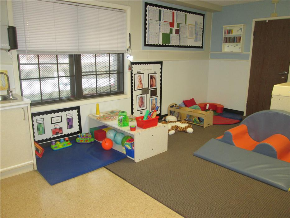 Our infant room cares for children 6 weeks to 18 months.