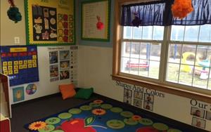 Our circle time area!