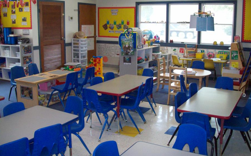 Junior School Age Classroom