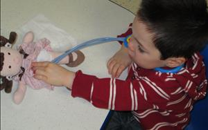 Children learn about the important roles that community helpers, such as doctors, play in their lives.