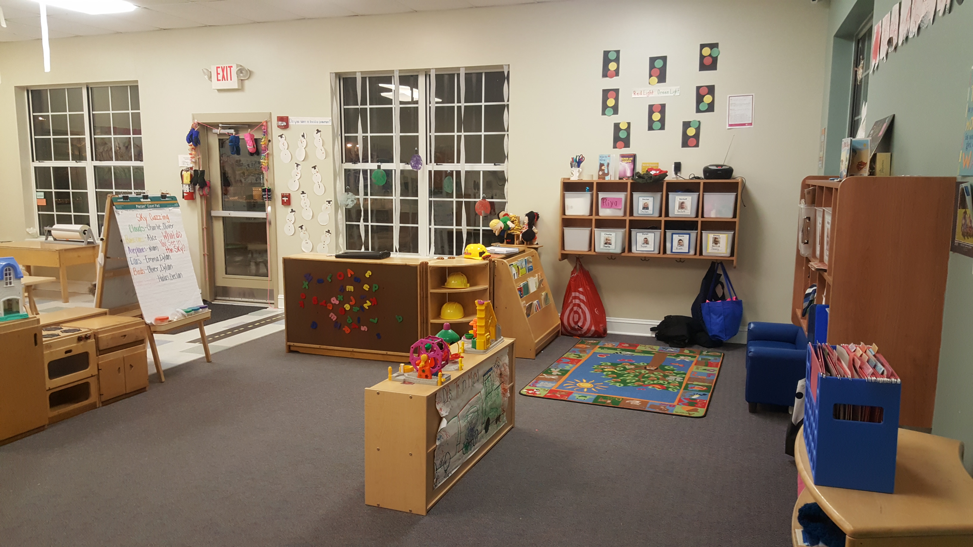 This is one of our two Discovery Preschool classrooms.