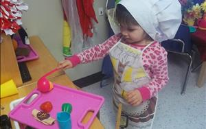 Dramatic play is a great way to enhance social and emotional development!