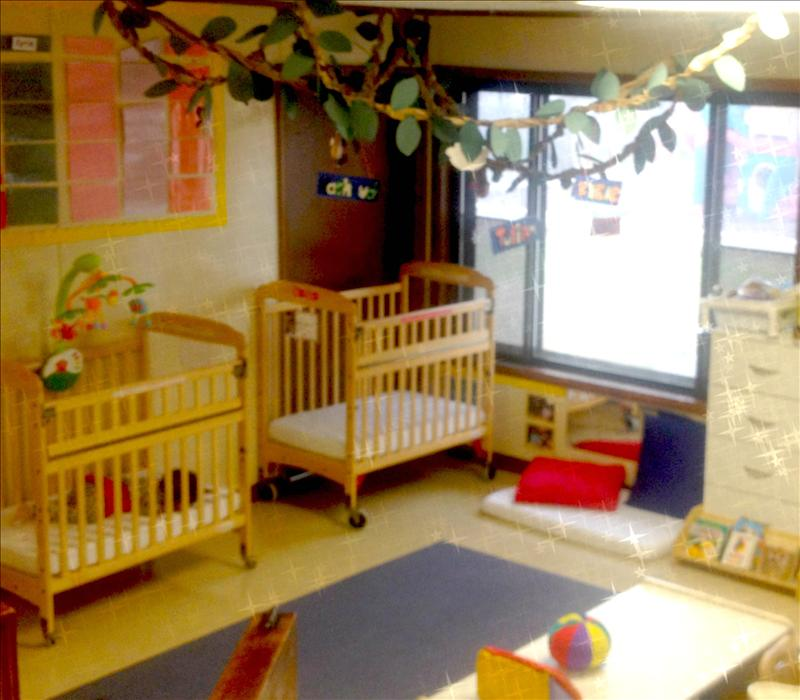 Our Infant classrooms are beautifully prepared just for you!