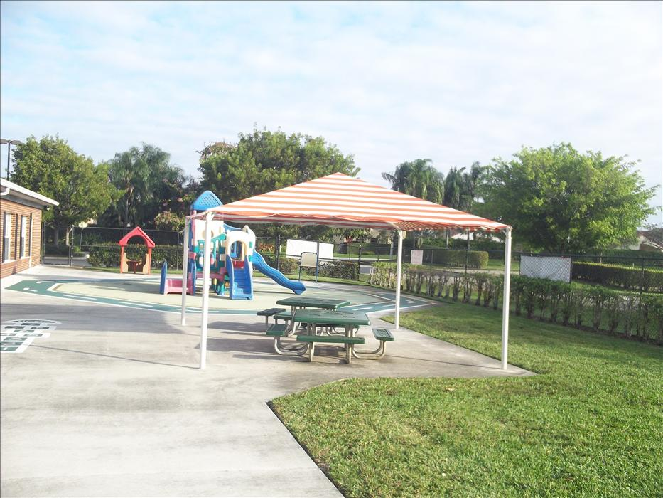 Playground - plenty of shade areas on our three play areas