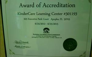 We are a Nationally Accredited Center