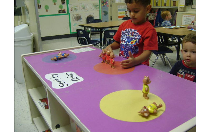 Making learning fun at the KinderCare of Lincoln Park.