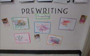 Prewriting Skills from our Toddler Classroom