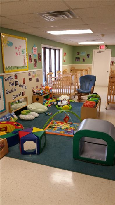 KinderCare promotes a Least-Restrictive Environment for infants. Least-restrictive