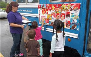 Ice Cream Truck visits our center