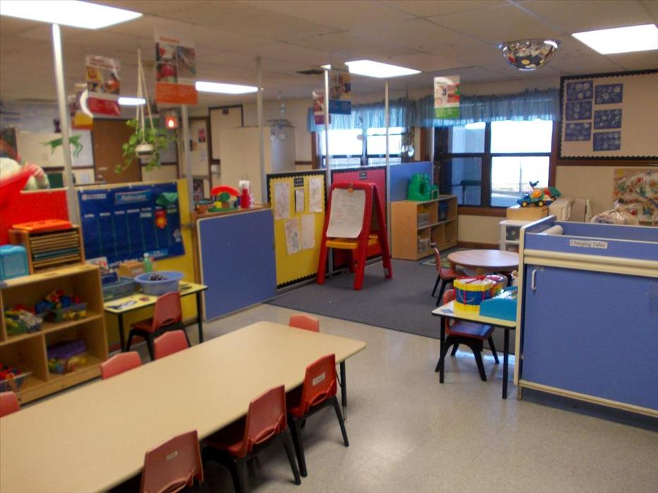 The Early Discovery Preschool classroom