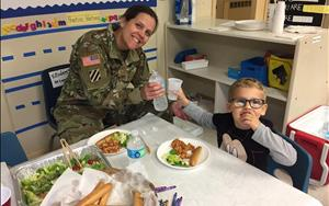 Families got to share a dinner made by Ms. Victoria! It was wonderful to have the families share a meal and get to know each other!