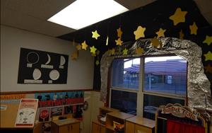 Starry Scene in the Dramatic Play Area