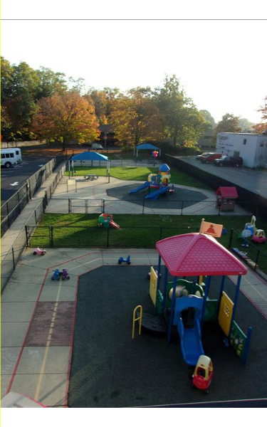 View of our playground from above