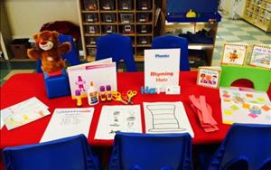 We offer enrichment classes such as Phonics!