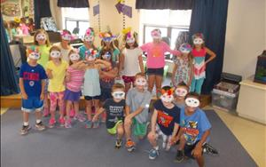 Crazy mask day!
