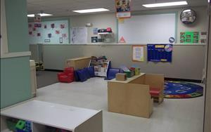 Discovery Preschool Room: Langage Arts and Circle Time