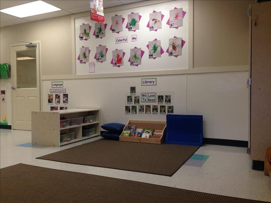 Toddler Classroom Library