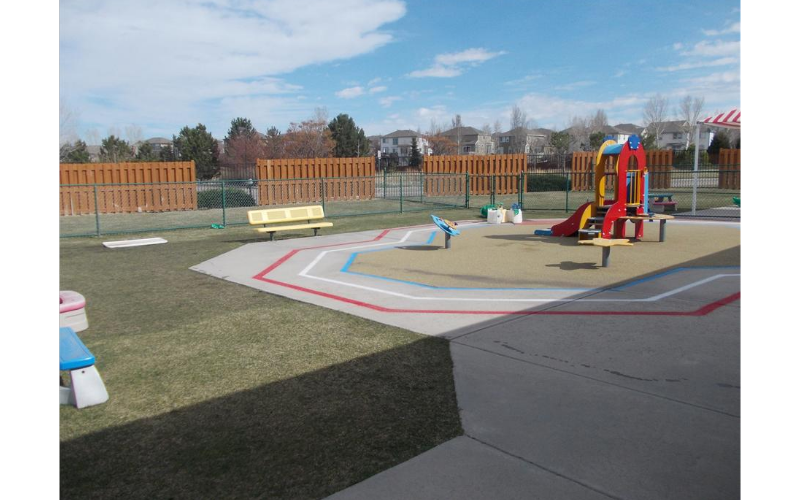 Toddler/Discovery Preschool Playground