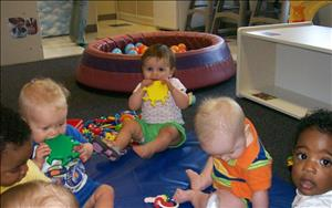 Group play is a great way to begin learning how to socialize!!