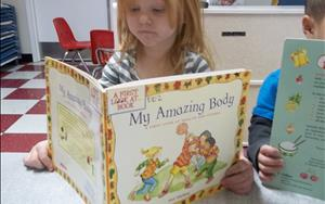 Language and Literacy - Helps your child convey their ideas, thoughts, and fellings through speaking and listening, language, and early literacy skills.