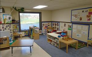 Discovery Preschool A is a great place for twos to learn and have fun!