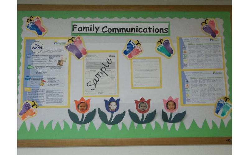 Family Communications Board
