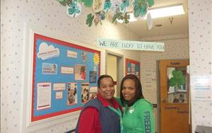 Ms. Nicki and Ms. Shayon- St. Patrick's Day