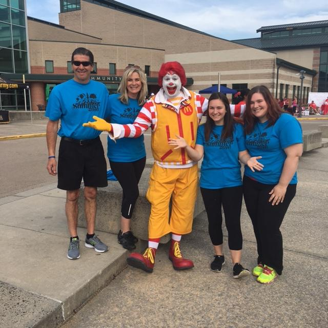 We walked for Ronald McDonald House! June 2016!