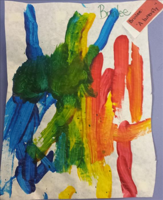 A picture of a butterfly from Discovery Preschool