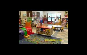 This is our discovery preschool room designed for two year olds. We have an excting program for this age group. We have a monthly theme for this class. We have hands on activities and teach colors, numbers, shapes, and letters. We provide lots of time for reading, dancing and center play.
