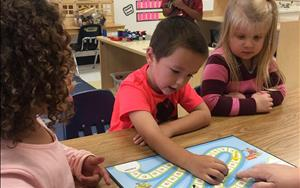 Small group activities that help your child build literacy and math skills.