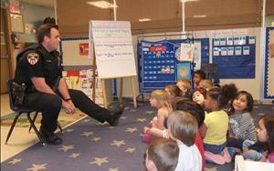 Wheaton Police Department visits our center