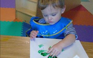Creative arts in the Toddler class