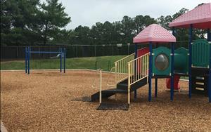 Preschool, PreK, and School Age Playground