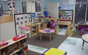 Discovery preschool is a smaller classroom designed for children ages two to three.  The small class size allows for individual attention and opportunity for potty training and preparation for preschool.