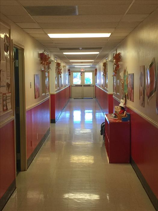 Hallway to our amazing programs.