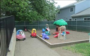 Infant and Toddler Playground.